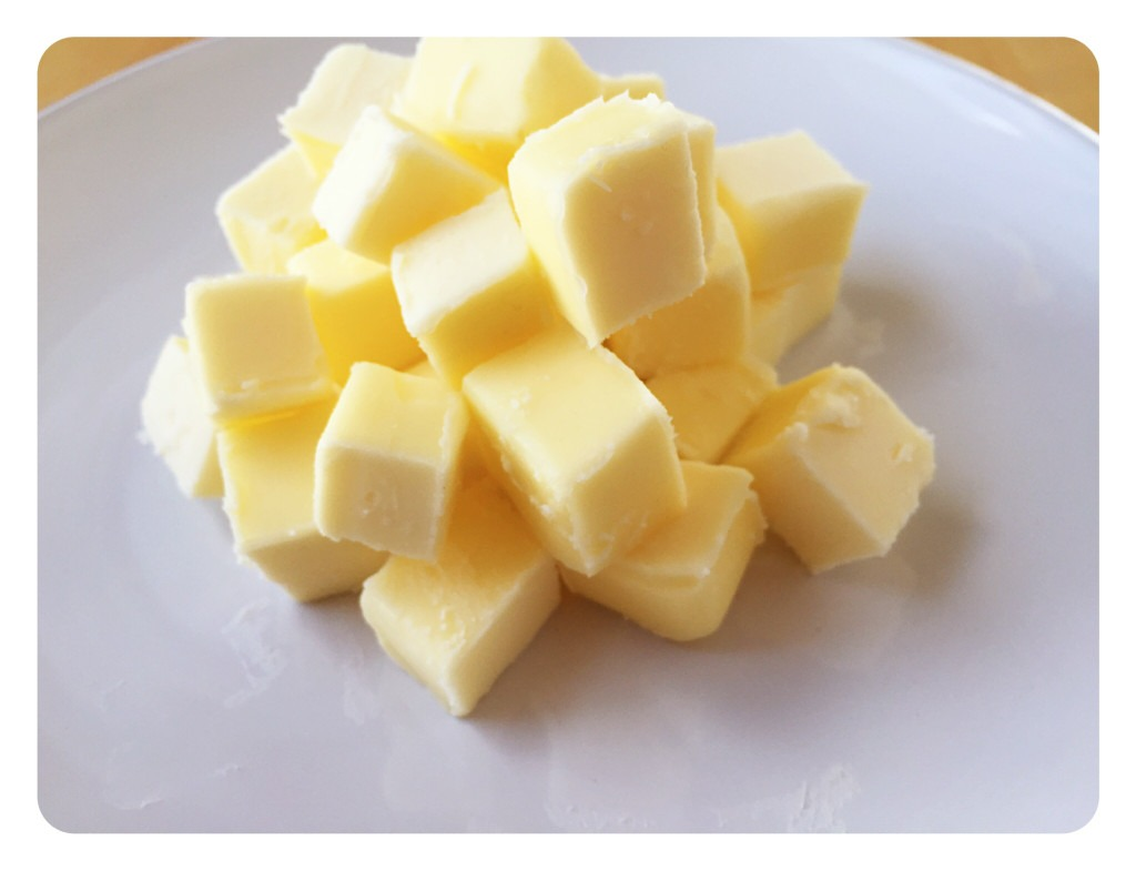 Cubed Butter