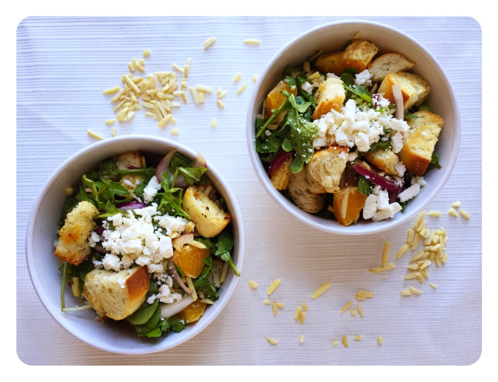 Healthy Orange Arugula Salad for Two