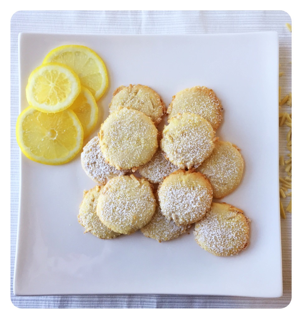 Lemon Almond Spring Cookies