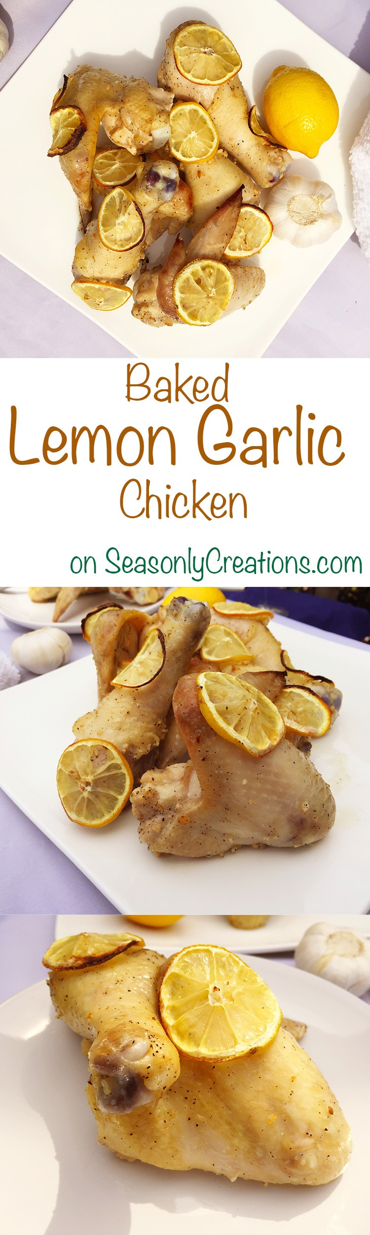 how to make baked lemon olive oil chicken