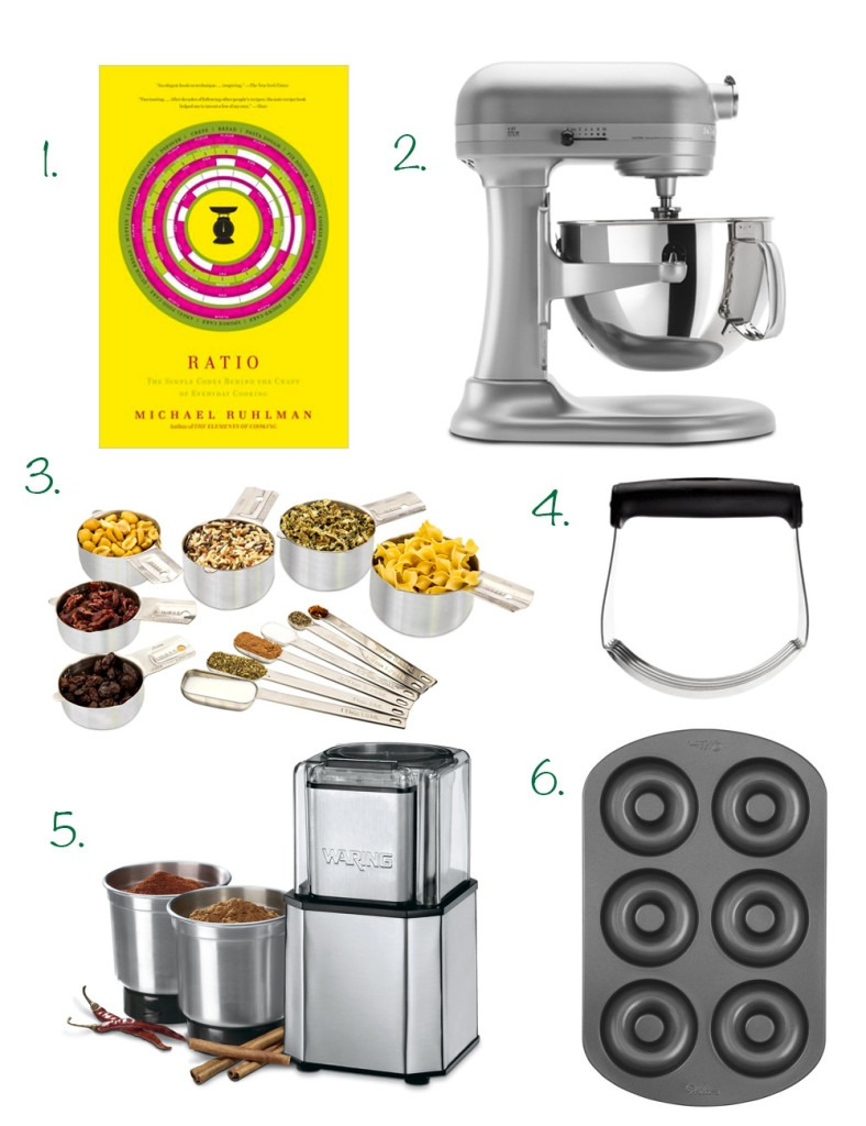 The Holiday Gift Guide for Foodies. 16 foodie gifts for the baker, kitchen newbie or diet conscious foodie in your life! Click through for the full holiday gift guide | SeasonlyCreations.com |@SeasonlyBlog
