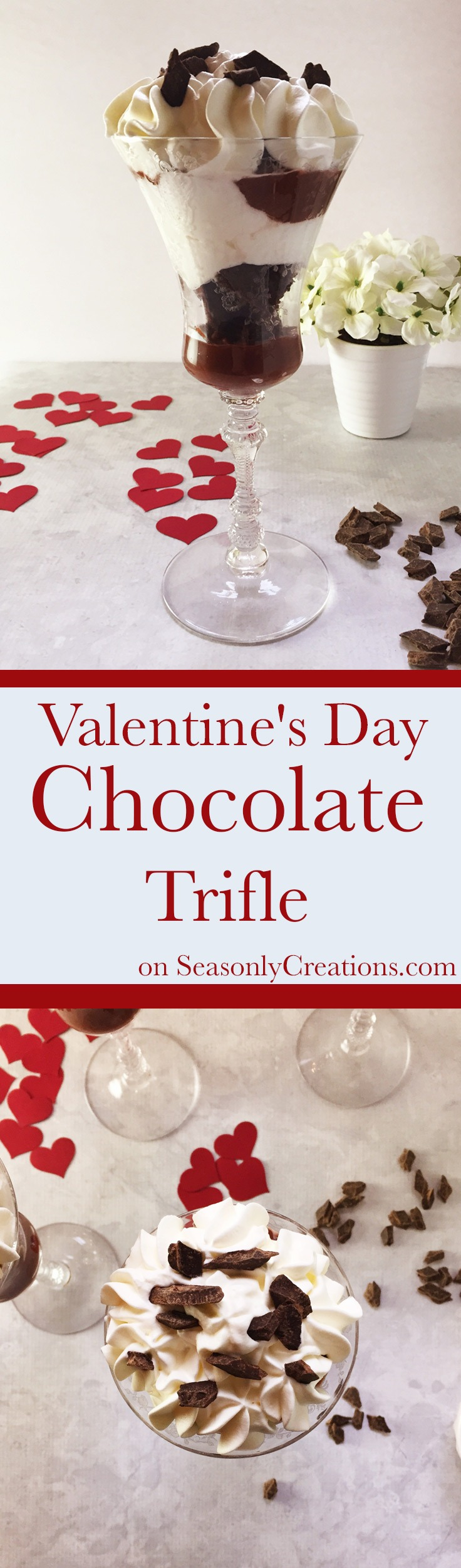 Easy Valentine's Day Chocolate Trifle Recipe for Him and Her ...