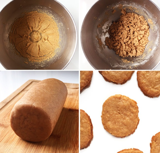 Classic Gingersnap Cookies. Add this Classic Gingersnap Cookie recipe to your Christmas cookie making plans! These super thin and crisp homemade gingersnaps require no rolling pins, no floury messes and are perfect for your Christmas cookie recipe collection! Click through for the full recipe | SeasonlyCreations.com | @SeasonlyBlog