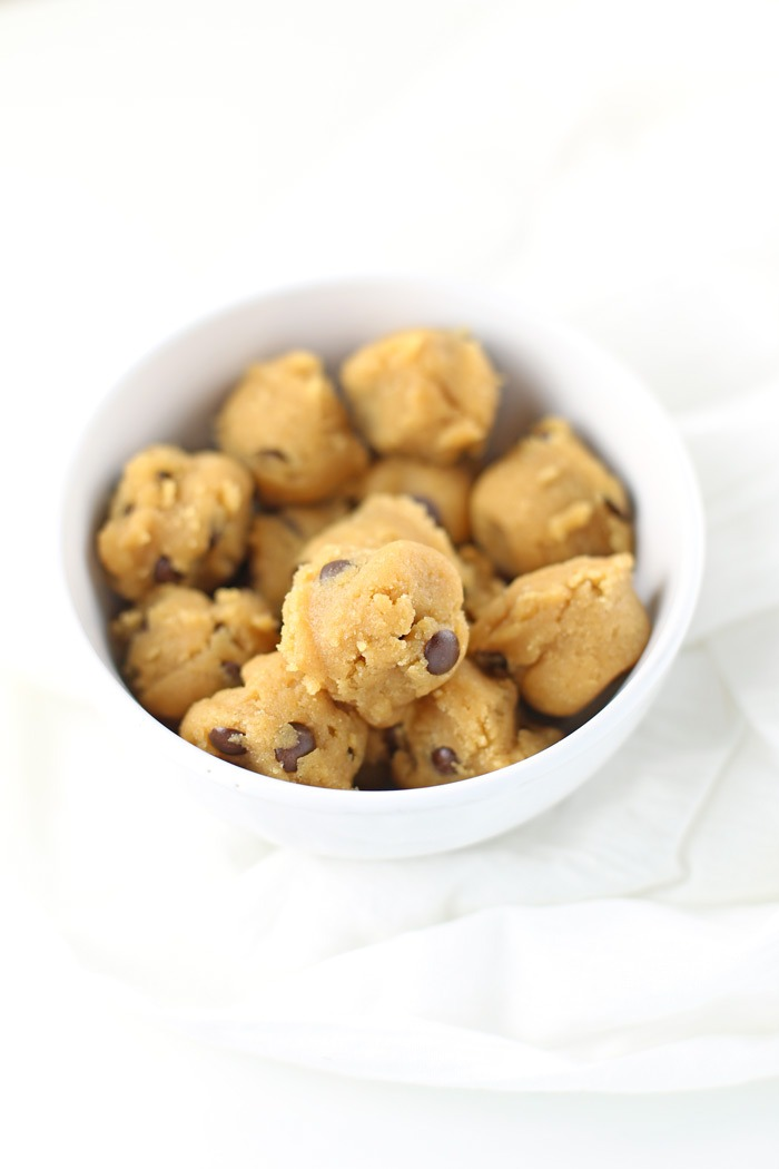 """Low Carb """"Chocolate"""" Chip Cookies {Gluten-free, Keto-friendly}. Delicious, low carb cookie recipe, gluten-free and quick and easy! Only 112 calorie each and 6.1 NET CARBS. With a just a few specialty ingredients, this cookie recipe will become a favorite (it's also keto-friendly). Click through for the full recipe and equipment/ingredient list! 
