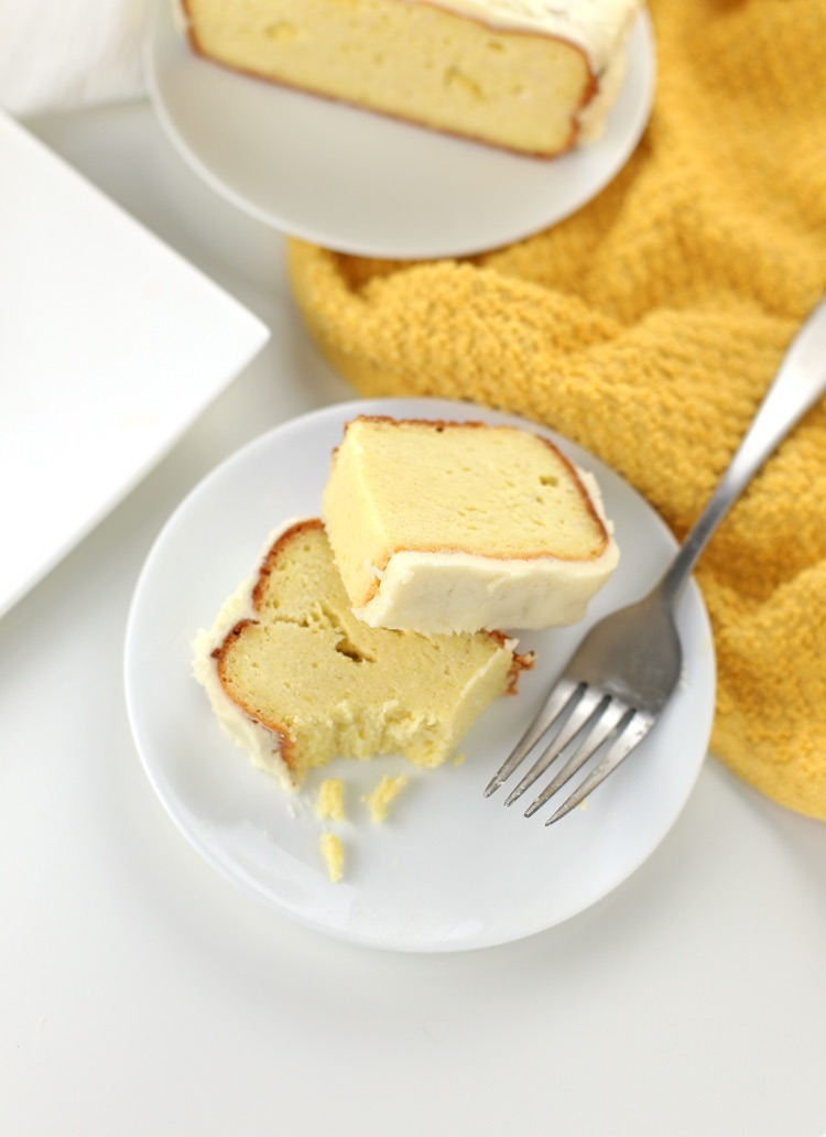 Low Fat Lemon Pound Cake