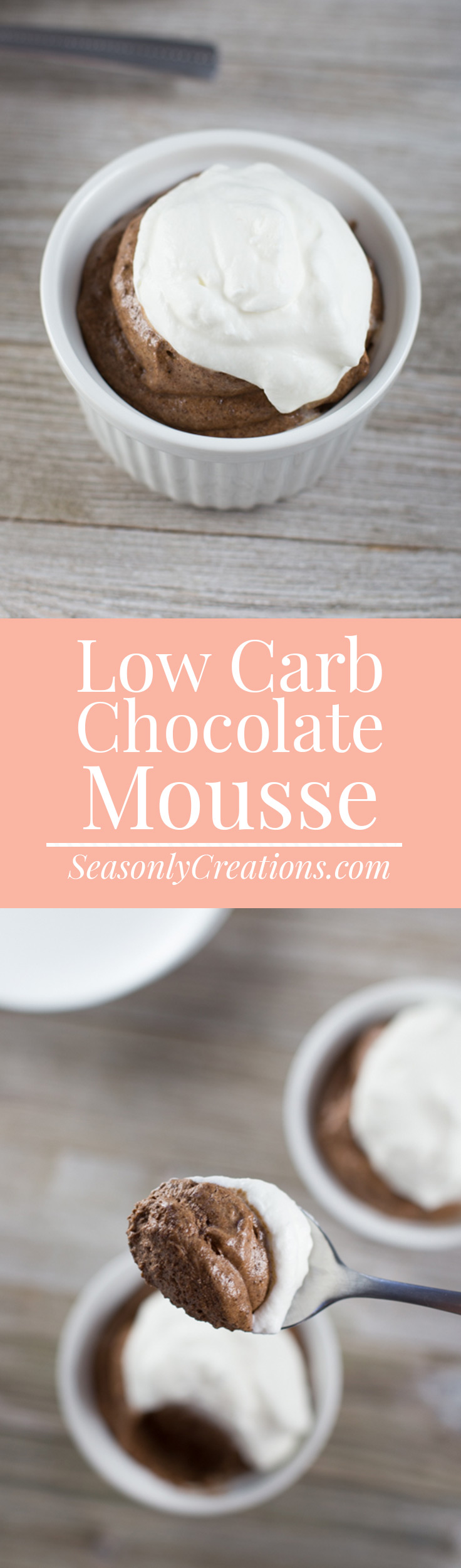 Low Carb Chocolate Mousse is the perfect keto-friendly summer dessert recipe for chocolate lovers. This no-bake low carb dessert is ideal for low sugar dieters who resist turning the oven on during this hot season!